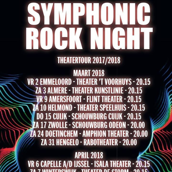 Symphonic Rock Night @ Symphonic Rock Night - Amersfoort, Netherlands