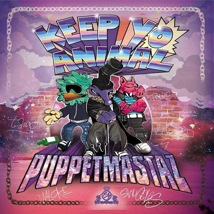 Puppetmastaz @ LA CASE A CHOCS - Neuchatel, Switzerland