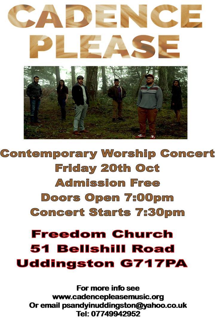 Cadence Please @ Freedom Church Glasgow - Glasgow, United Kingdom