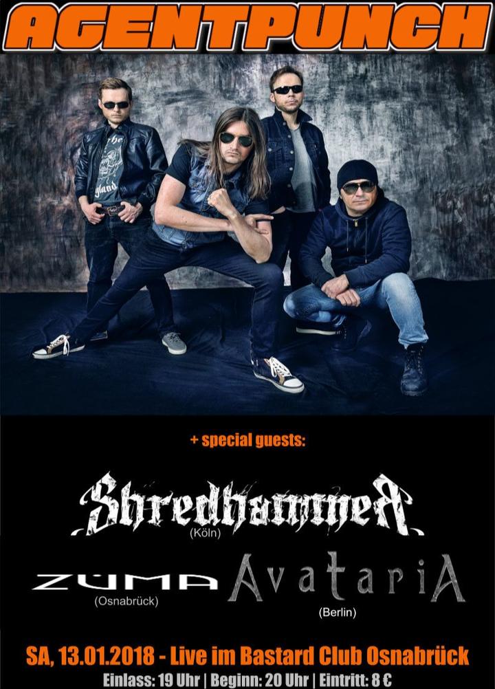 Shredhammer @ Bastard Club - Osnabruck, Germany