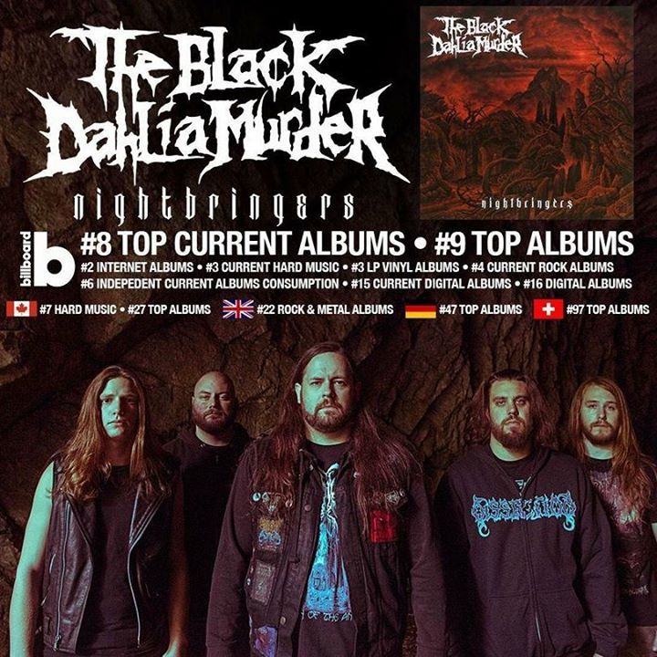The Black Dahlia Murder @ Highline Ballroom - New York, NY