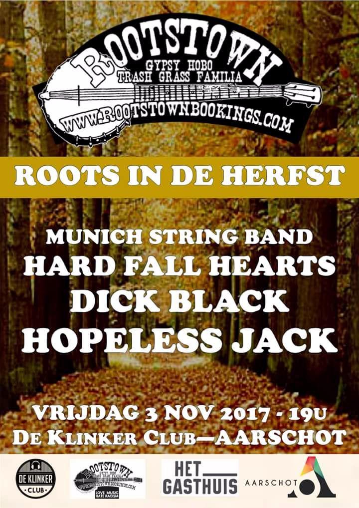 Hard Fall Hearts @ De Klinker - Aarschot, Belgium