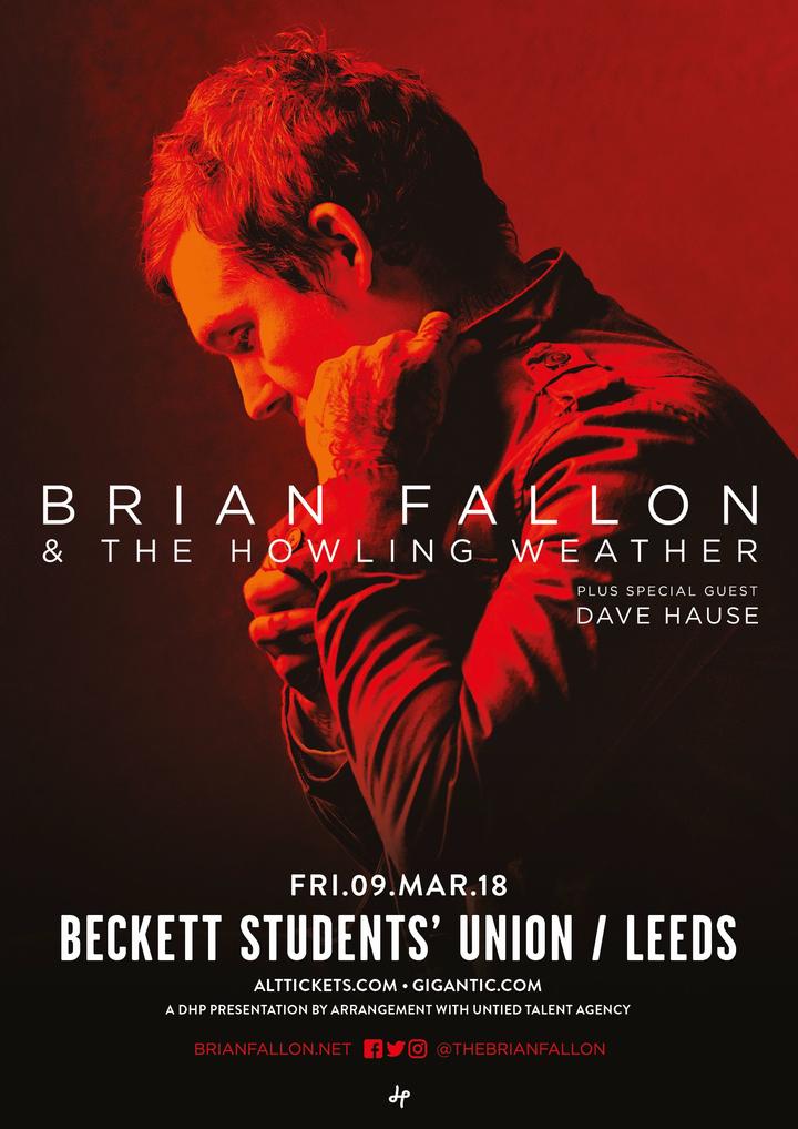 Dave Hause @ Beckett University  - Leeds, United Kingdom