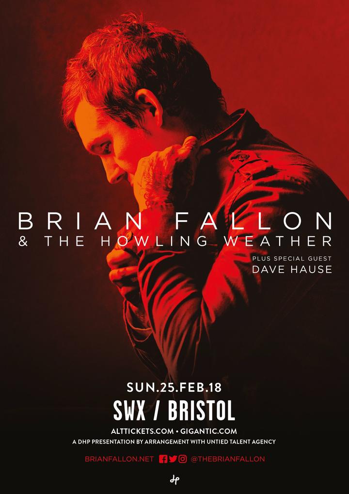 Dave Hause @ SWX  - Bristol, United Kingdom