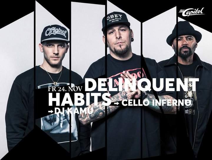 Delinquent Habits @ Old Capitol City   - Langenthal, Switzerland