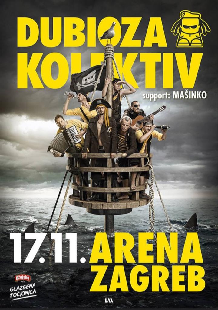 Dubioza kolektiv @ Arena Zagreb - Zagreb, Croatia