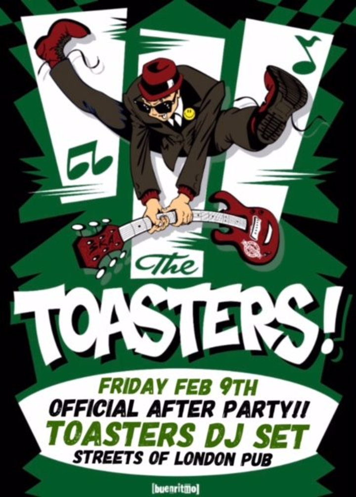 The Toasters @ Official After Party @  Streets of London Pub (The Toasters DJ Set) - Denver, CO