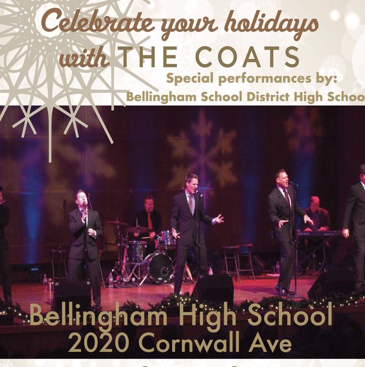 The Coats @ Bellingham High School Performing Arts Center - Bellingham, WA