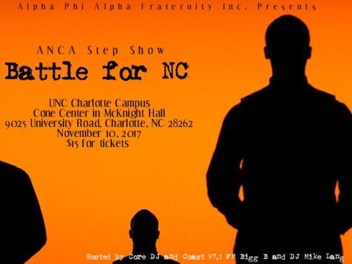 Bigg B @ UNC-CHARLOTTE- ANCA Battle for NC Step Show - Charlotte, NC