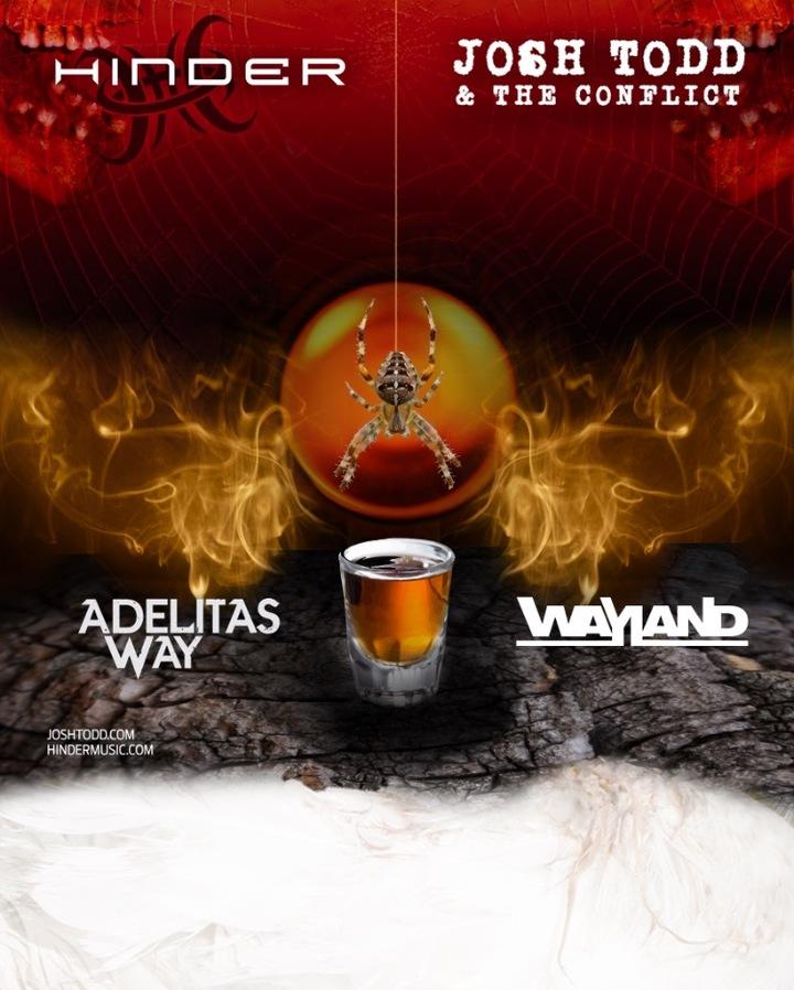 Adelitas Way @ Mesa Theater - Grand Junction, CO