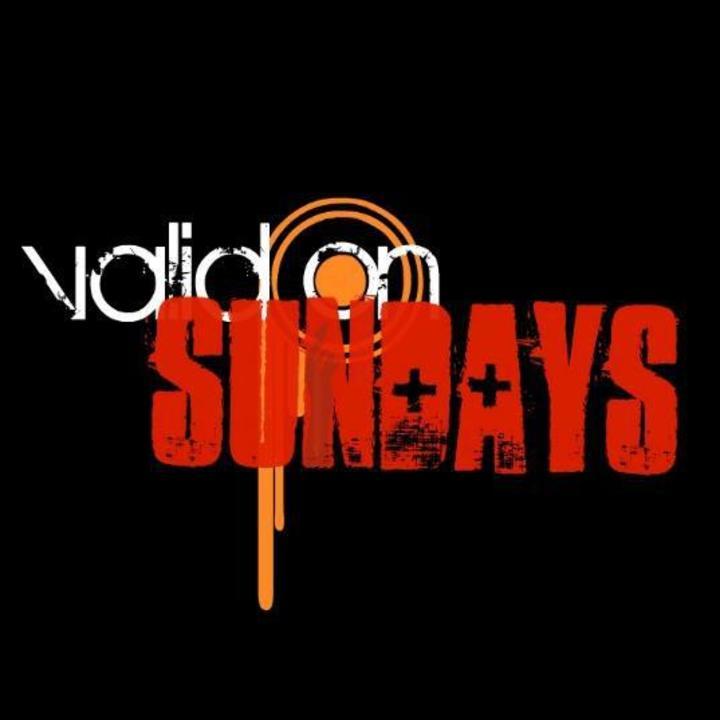 Valid on Sundays Tour Dates