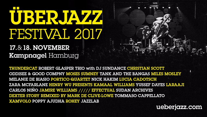 Mark De Clive-Lowe @ Uberjazz Festival - Hamburg, Germany