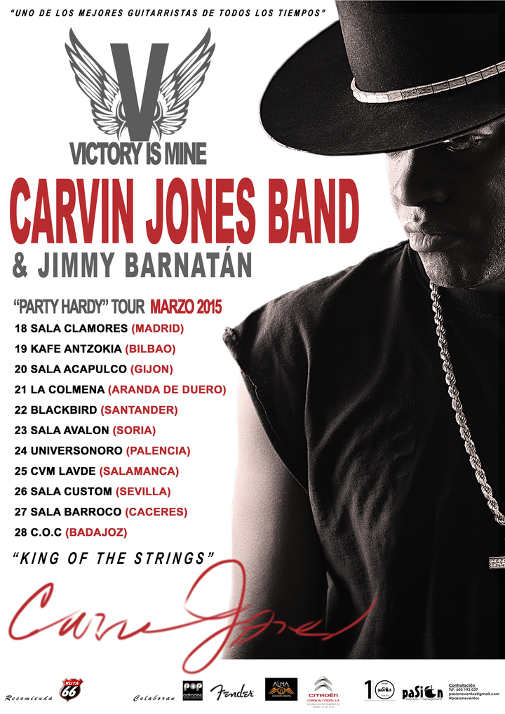 Carvin Jones Band @ Yardbirds Club - Grimsby, Uk