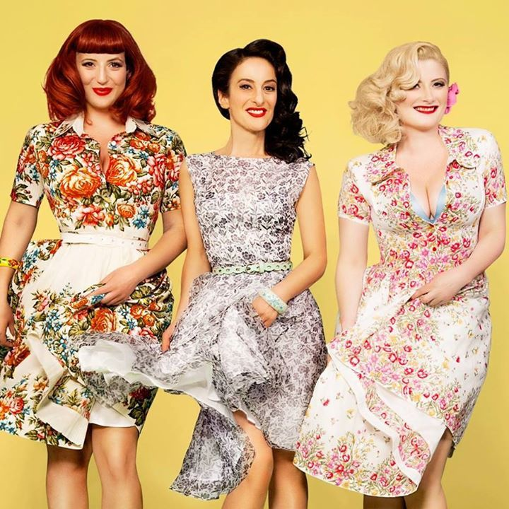 The Puppini Sisters @ Theater Stuebchen - Cassel, Germany