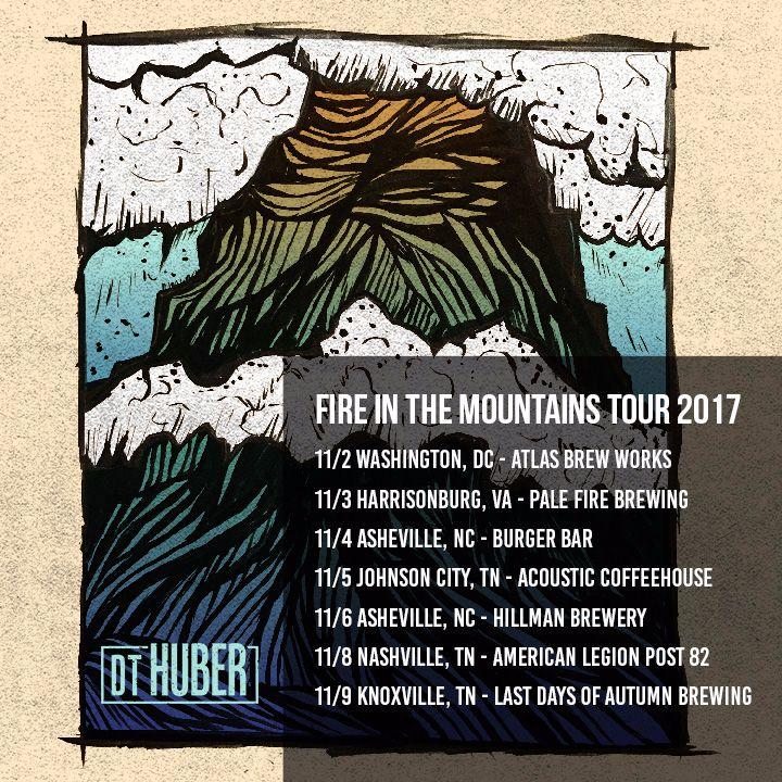 D.T. Huber Tour Dates
