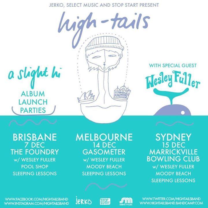 High-tails Tour Dates