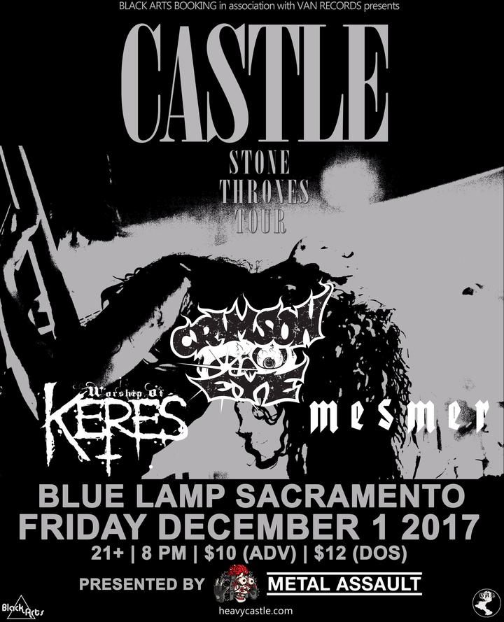 Metal Assault - Sacramento Concert Tickets - Metal Assault Blue ...