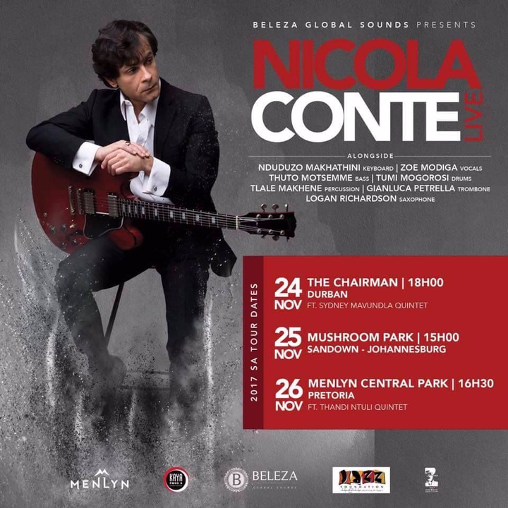 Nicola Conte Tour Dates