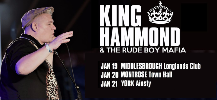 King Hammond @ Longlands Club - Middlesbrough, United Kingdom