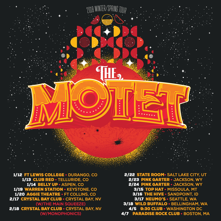 The Motet @ Pink Garter - Jackson, WY
