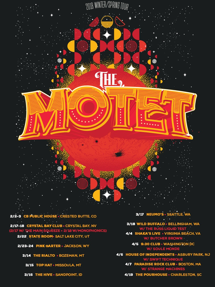 The Motet @ Paradise Rock Club - Boston, MA