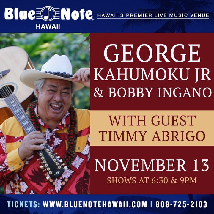 George Kahumoku Jr @ Blue Note Hawaii - Honolulu, HI