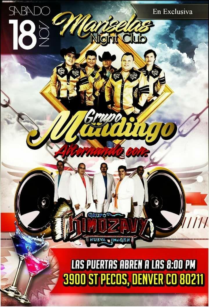 Grupo Mandingo @ Mariselas Night Club - Denver, CO