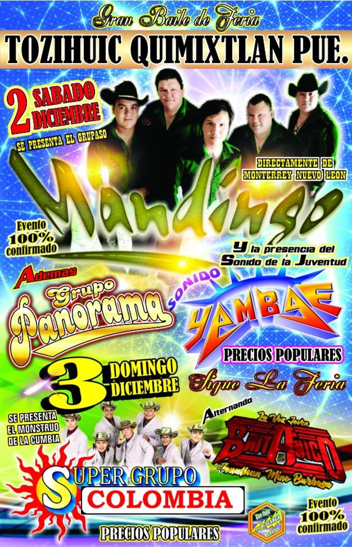 Grupo Mandingo @ Tozihuic, Mpio de Quimixtlan - Puebla, Mexico
