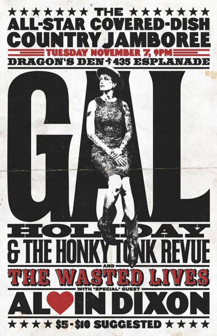 Gal Holiday and the Honky Tonk Revue @ Dragon's Den - New Orleans, LA