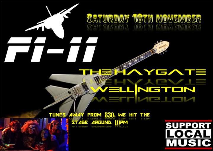 F1-11 @ The Haygate - Telford, United Kingdom