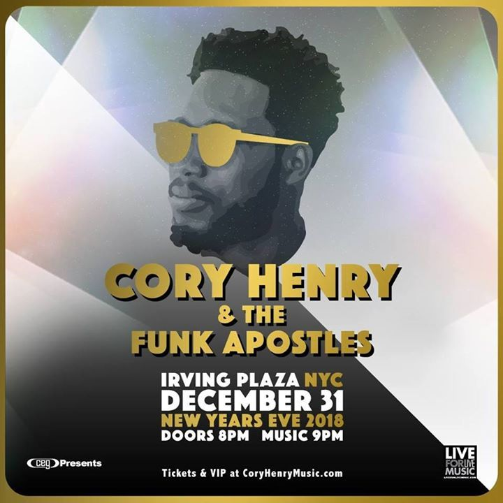 Cory Henry Tour Dates