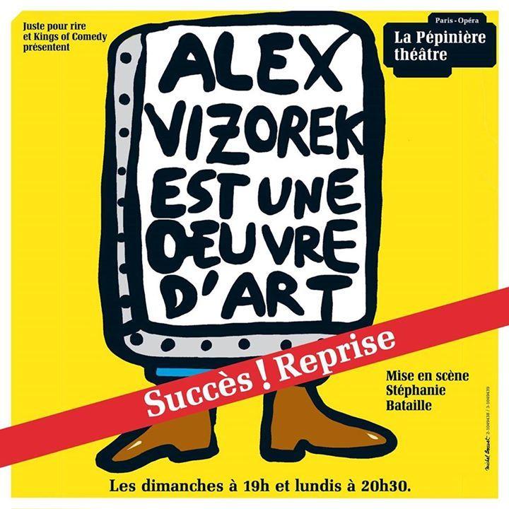 Alex Vizorek @ LA COMEDIE DE TOULOUSE - Toulouse, France