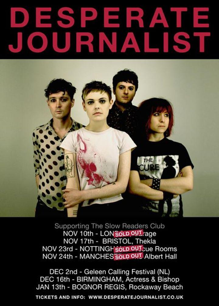 Desperate Journalist Tour Dates