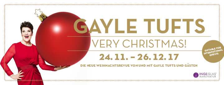 Gayle Tufts @ Theater und Komödie am Kurfürstendamm - Berlin, Germany