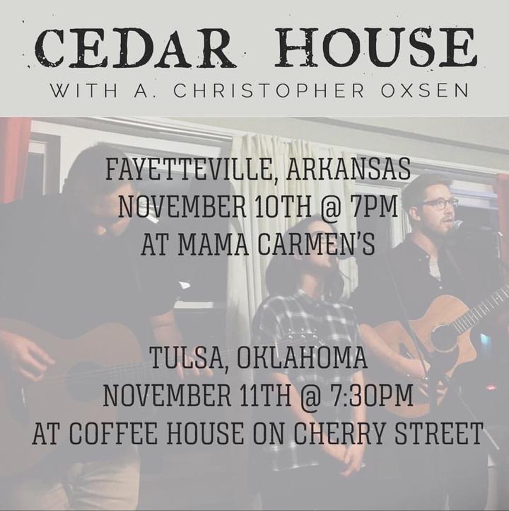 A. Christopher Oxsen @ Coffee House on Cherry Street - Tulsa, OK