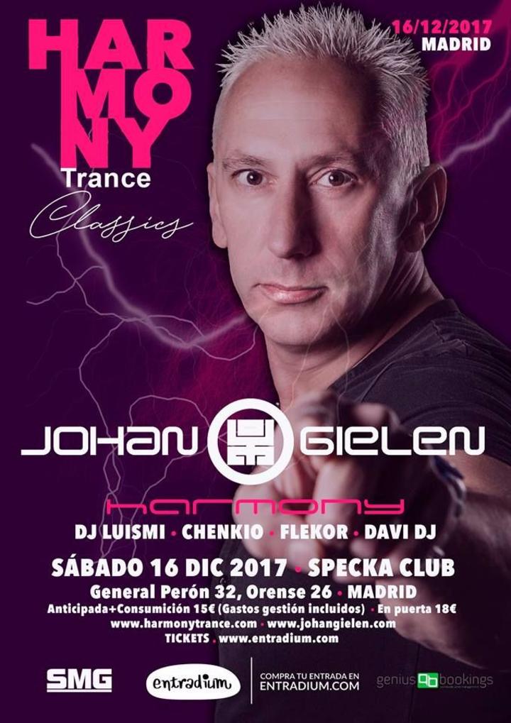 Johan Gielen Fanpage @ Specka club - Madrid, Spain