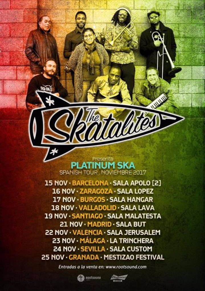 The Skatalites @ Sala Jerusalem - Valencia, Spain