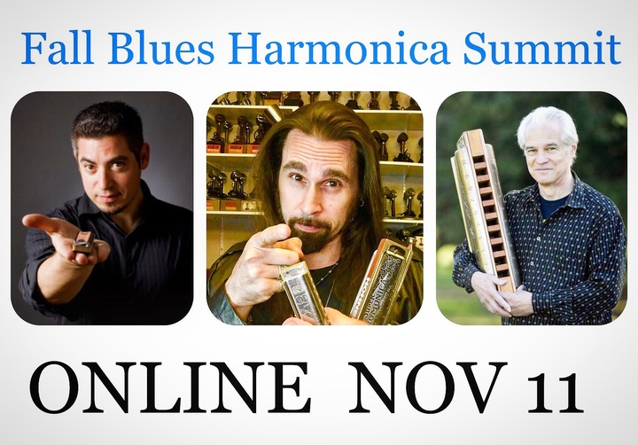 Dennis Gruenling - BadAss Harmonica @ Online - 10am-2pm Mountain Time (USA) - Denver, CO