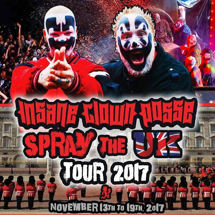 Insane Clown Posse Tour Dates