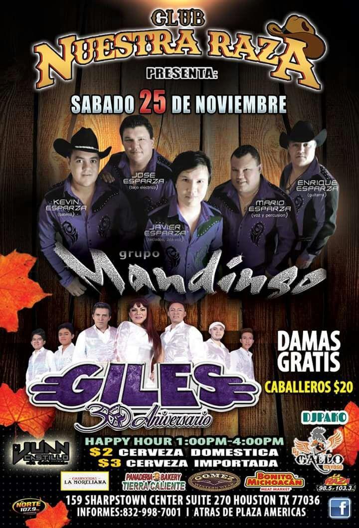 Grupo Mandingo @ Nuestra Raza  - Houston, TX