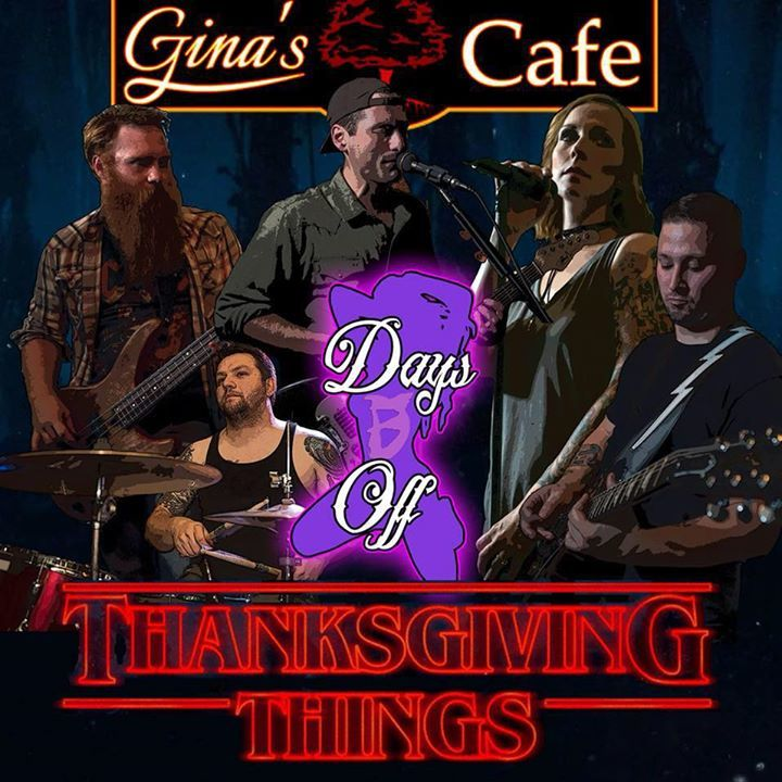 Days Off the Band @ Gina's Cafe - Torrington, CT