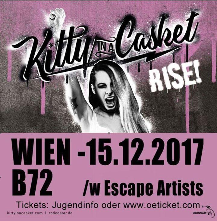 Kitty In A Casket @ Schallter Audio & Records - Vienna, Austria