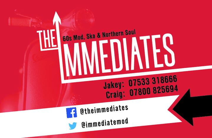 The Immediates Tour Dates