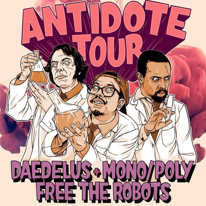 Free The Robots Tour Dates