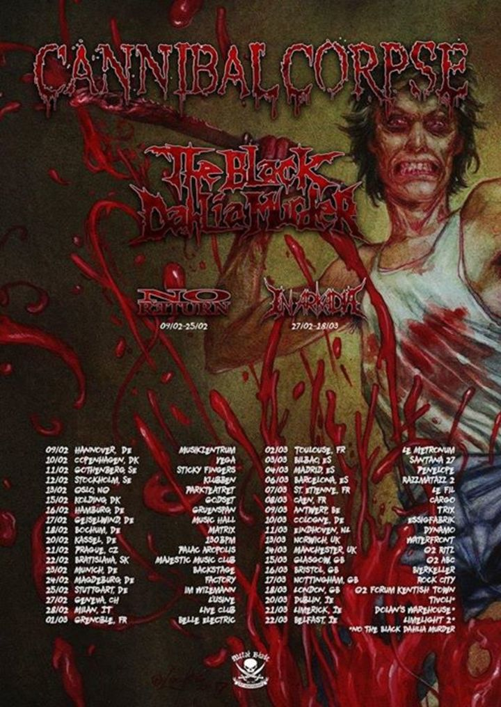 The Black Dahlia Murder @ Phoenix Theater - Petaluma, CA