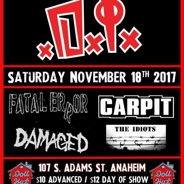 CARPIT Tour Dates