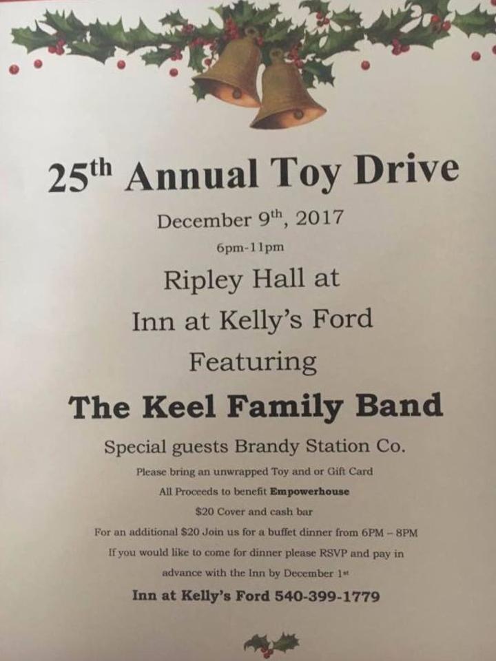 Larry Keel @ 25th Annual Toy Drive - Remington, VA