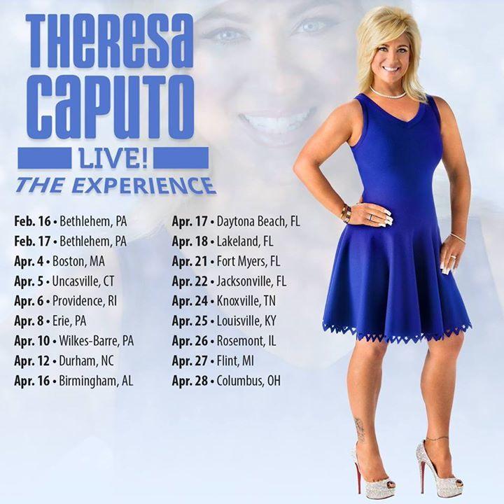 Theresa Caputo @ INB Performing Arts Center - Spokane, WA