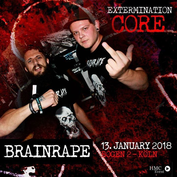 Brainrape Tour Dates