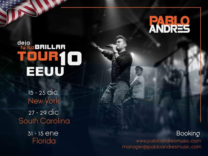 PABLOANDRES MUSIC @ New York - South Carolina - Florida - New York, NY